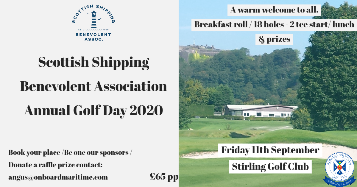 SSBA Annual Golf Day 2020